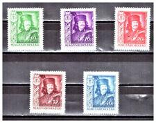 Echte Briefmarken aus Ungarn mit Falz