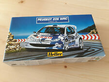 Heller Peugeot  206 WRC . Modellbau. Mottorsport. Auto .Rally. Fahrzeuge.Bausatz