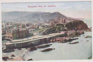 Devon postcard - Ilfracombe from the Capstone - P/U 1905 (A2130)