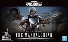 Bandai Star Wars 1/12 The Mandalorian Vesker Armor Silver Coating Plastic Model