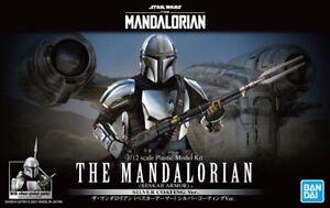 Bandai 1/12 Scale Model Kit Star Wars The Mandalorian(Silver Plated)Beskar Armor