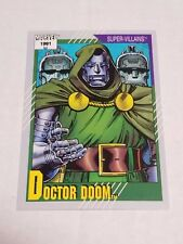 Doctor Doom #88 - 1991 Marvel Universe Series 2 - Free Bonus Card!