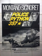 POLICE PYTHON 357 1976 Yves Montand, Simone Signoret FRENCH POSTER