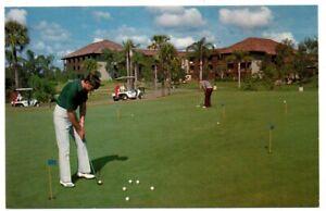 FL Florida Orlando Walt Disney World Amusement Park Golf Resort Putting Postcard