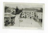 283- Bad Pyrmont Brunnenplatz* Restaurant, Fuhrwerk, belebt