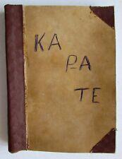RARE! 1970-80s Soviet Russian Samizdat Photocopy Book KARATE Hand-to-hand combat