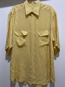 mens Brioni silk shirt XL