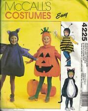 McCall's Costumes 4225 Children's Unisex Pot Belly Costumes Cat Bee Size 5-6