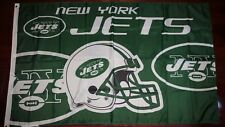 New York Jets 3x5 Flag. Us seller. Free shipping within the Us