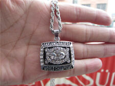 1980 Oakland Raiders Championship Ring Pendant Necklace With Chain Men Gift