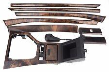 BMW Inlay Trim Set Dash Door Centre Console Gear Lever E39 Nussbaum Wood