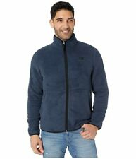 The North Face Dunraven Sherpa Full Zip (Urban Navy/TNF Black) Men's Clothing -