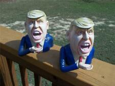 2 Cast Iron Keep America Great 2020 President Donald Trump Mechanical Coin Bank