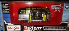 Taxi Volkswagen VW Van Samba Diecast Bus 1:25 Maisto All Stars 8 inch 1/24