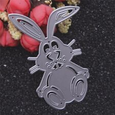 Rabbit Metal Cutting Dies Stencil DIY Scrapbooking Album Card Embossing Craft