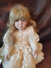"""12+6"""" Sitting Doll Beautiful Buttercup Georgetown by Anne DiMartino porcelain"""