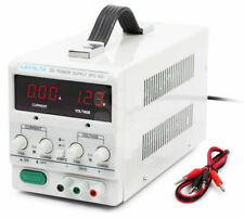 Lavolta BPS-305 DC 0-30V/0-5A Fuente de Alimentación Regulable - Blanco