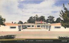 1940s Barchris Motor Court Goldendale Washington Thomas postcard 8404
