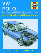 H3245 VW Polo Petrol (Nov 1990 to Aug 1994) Haynes Repair Manual