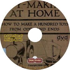 How To Make Old Fashioned Toys { 59 Vintage Plan Books } on DVD