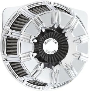 Arlen Ness Inverted Series V-Twin Air Cleaner Chrome 10-Gauge 18-942 USA Made