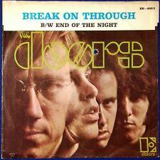 """1967 Orig. Doors Break On Through 7"""" US Elektra EK-45611 Picture Sleeve Morrison"""