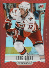 2012-13 (HURRICANES) Panini Prizm Red #7 Eric Staal/50