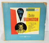"Duke Ellington This Is Duke US RCA '52 Jazz Swing 10"" Vinyl LP NM"