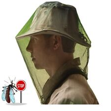 Mosquito Bee Fly Insect Head Net Ultra Fine Mesh Fishing STOP NO-SEE-UM'S