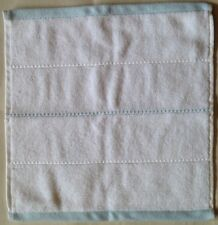 Nwt Dkny 2 White/Blue Cotton Washcloth Towels Set