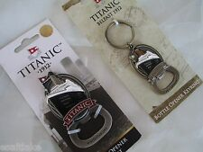 Rare Titanic 3D Model Brass Bottle Can Opener Keychain & Magnet Belfast Ireland