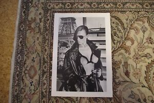 Helmut Newton Bergstrom, Paris  1976 Special Collection Signed
