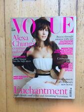 Vogue UK October 2013 Alexa Chung Patrick Demarchelier Polunin Isabella Blow JW