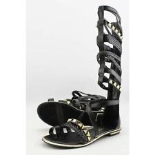Sandali e scarpe nere gladiatori Fergie per il mare da donna