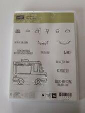 Stampin up ✿ Stempelset Lecker Laster ✿ 16 Stempel Eis Danke Döner Food Truck