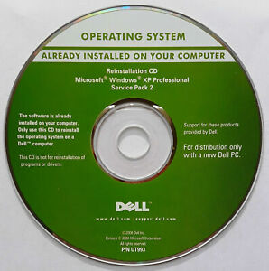 Dell Reinstallation CD For Windows XP Professional Service Pack 2 NEW SEALED