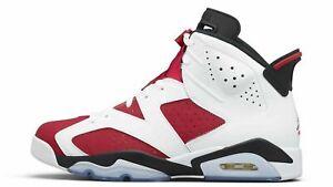 2021 Nike Air Jordan Retro 6 Carmine CT8529-106 PRE-ORDER Sizes 9-13