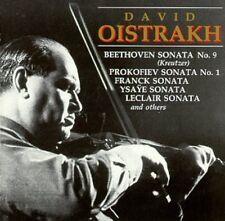Oistrakh / Beethoven / Kreutzer / Prokofiev - Oistrakh in Recital [New CD]