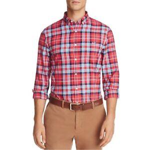 VINEYARD VINES Finback Plaid Long Sleeve Button-down Shirt Retail: $115 (NWT)