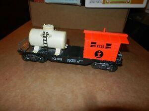 MARX #1015 ICG Work Caboose w/Tank, 8 Wheel, Original