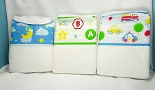 Preschool diapers plastic backed  abu  medium 28-36 in 3 pack fast*  shipping!