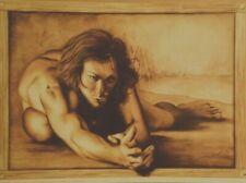 "Affiche d'ARTISTE  "" MICHEL GILIBERTI ""   49 x 67 cm"