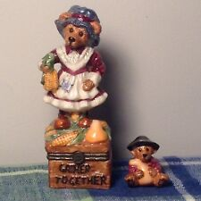Boyd's Le Bearmoge Collection Virginia Grizbert Gather Together #392019 1999 Pre