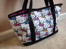 New Tag Original Sanrio Hello Kitty Face Casual Tote Bag Handbag Magnetic Clutch