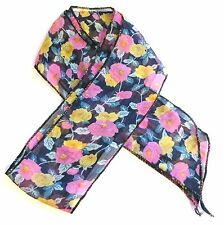 Unbranded Chiffon Multi-Coloured Scarves & Shawls for Women