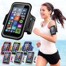 Sport Armband Handy Tasche + Silikon Tasche Handyhülle Schutz Hülle Case