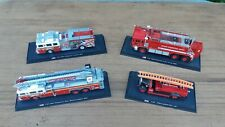 VINTAGE DIECAST MODEL FIRE ENGINES AMER COM COLLECTION 1:64 SCALE