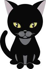 gato lindo gatito dibujos animados Pegatina gráfica Vinilo Etiqueta V2