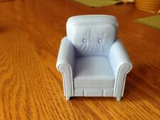 2004 FISHER PRICE LOVING FAMILY BLUE ARM CHAIR