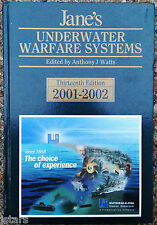 2001 - 2002 JANE'S UNDERWATER WARFARE SYSTEMS REFERENCE BOOK, 13th EDITION